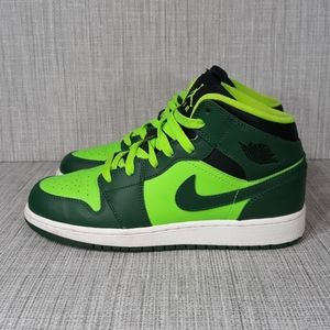 Nike Air Jordan Mid George Green Sz 7.5